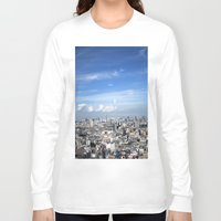 tokyo Long Sleeve T-shirts featuring tokyo by signe constable
