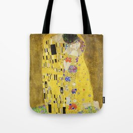 The Kiss - Gustav Klimt, 1907 Tote Bag