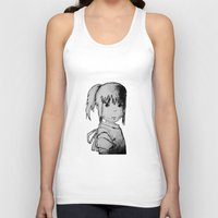 chihiro Tank Tops featuring Remember Your Name (Chihiro) - Sketch by ScoDeluxe