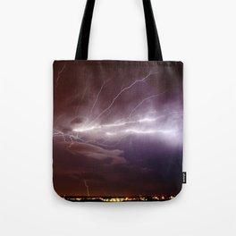 Nature's Light Show Tote Bag