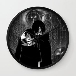two brothers Wall Clock