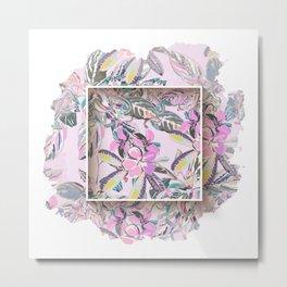 Babel forgotten flowers Metal Print