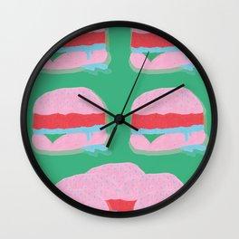 sliders is dreamy Wall Clock