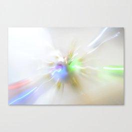Light show IV (original) Canvas Print
