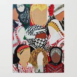 Palestinian Ladies Poster
