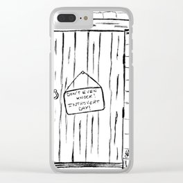 Introvert day Clear iPhone Case