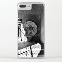 Bocca della Verita Clear iPhone Case