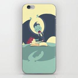 Vampire and Girl iPhone Skin