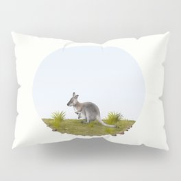 Bennett's wallaby (Macropus rufogriseus) Pillow Sham