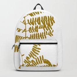 Golden Leaf #Minimal Backpack