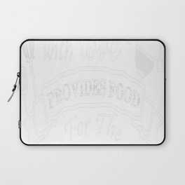 COOKING WITH LOVE Laptop Sleeve
