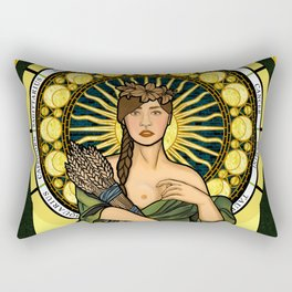 Queen of gluten/Goddess of harvest Rectangular Pillow