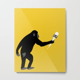 Monkey Business Metal Print