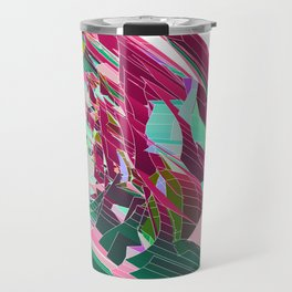 Imagined Space Station of Rosy Thoughts (Explosion Pretty series) Travel Mug