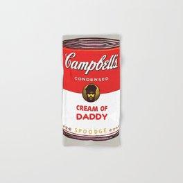 Cream Of Daddy Hand & Bath Towel