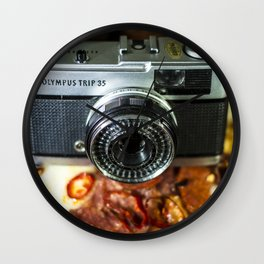 Pizza Cam Wall Clock