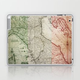 Vintage Map of Italy Laptop & iPad Skin
