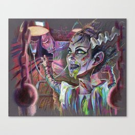 Bride of the Exorcist Canvas Print