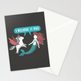 I Believe In You Stationery Cards
