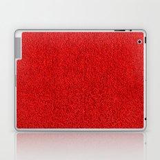 Blood Red Hotel Shag Pile Carpet Laptop & iPad Skin