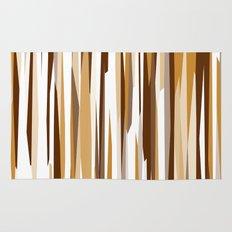 Golden Wood Grain Rug
