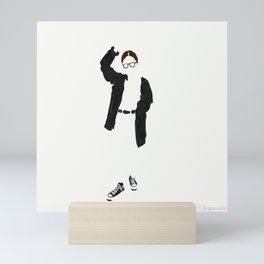Negative Space Mini Art Print