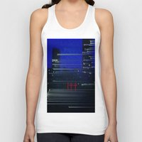 cityscape Tank Tops featuring Cityscape  by eyedoublecross