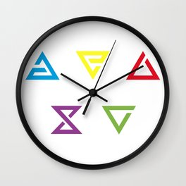 Witcher Signs Wall Clock