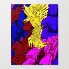 AUTOMATIC WORM 3 Canvas Print