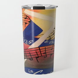 Sing Music Cross Travel Mug