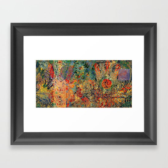 Nothingness to Hide Framed Art Print