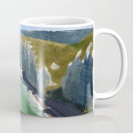 Love in Étretat Coffee Mug