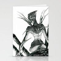 spider Stationery Cards featuring Spider by REDDRAWS Melissa's ART
