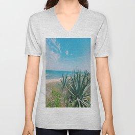 Flagler Beach, Florida Unisex V-Neck