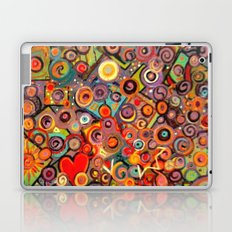 Abstract with squares Laptop & iPad Skin