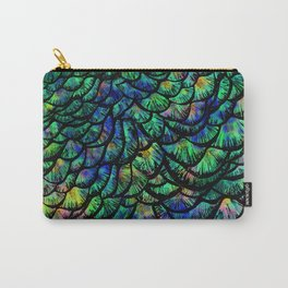 Preening Peacock Classic Carry-All Pouch