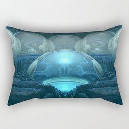 Inside A Blue Moon Rectangular Pillow