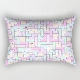 Kawaii Tetris Rectangular Pillow
