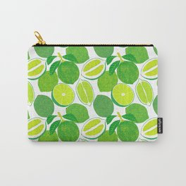 Lime Harvest Carry-All Pouch