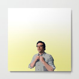 Jemaine Clement 8 Metal Print