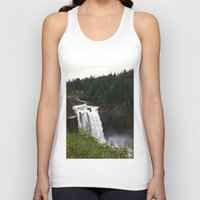 waterfall Tank Tops featuring Waterfall by Sexyshrimp