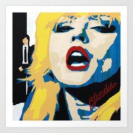 Blondie - Parallel Lines Art Print