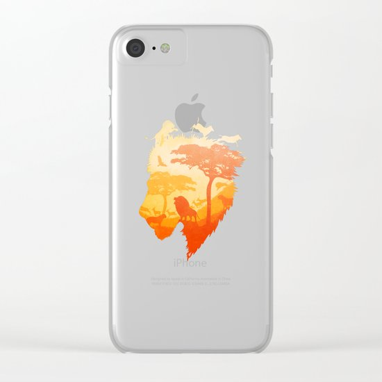 The Soul of a Lion Clear iPhone Case