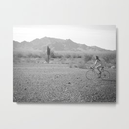 Only in the desert... Metal Print