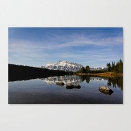 Two Jacks Lake  Canvas Print