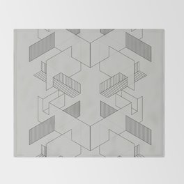 lines 1 Throw Blanket