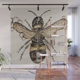 The Elizabethan Bee Wall Mural