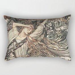 Arthur Rackham - Undine - Norse Mythology Rectangular Pillow