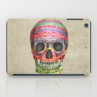 american iPad Cases featuring Navajo Skull  by Terry Fan