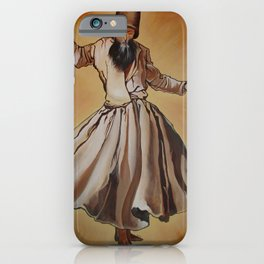 Semasen - Sufi Whirling Dervish iPhone Case